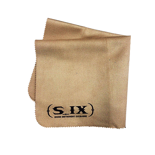 S_IX(シックス) ギタークリーニングクロス Chemi Cloth/Beige