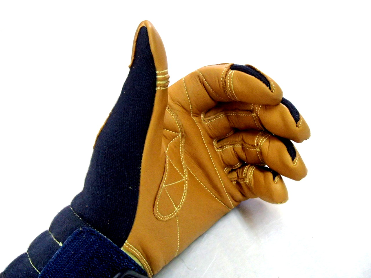 TONBO ケブラー製防火手袋 ネービー K-TFG5 L