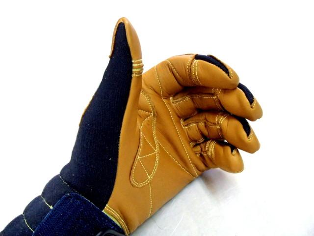 TONBO ケブラー製防火手袋 ネービー K-TFG5 S