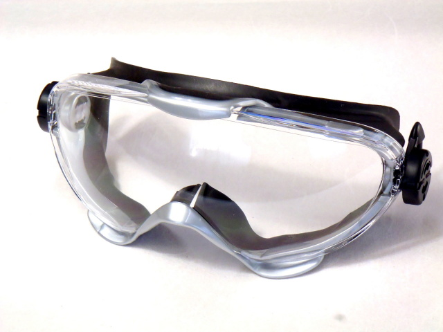 ゴーグル 樹脂スプリンググリップ付き YG-6000 YCP 山本光学製