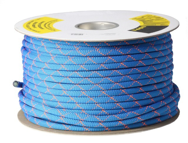 スターリン HTPスタティックロープ 11mm 100m ブルー