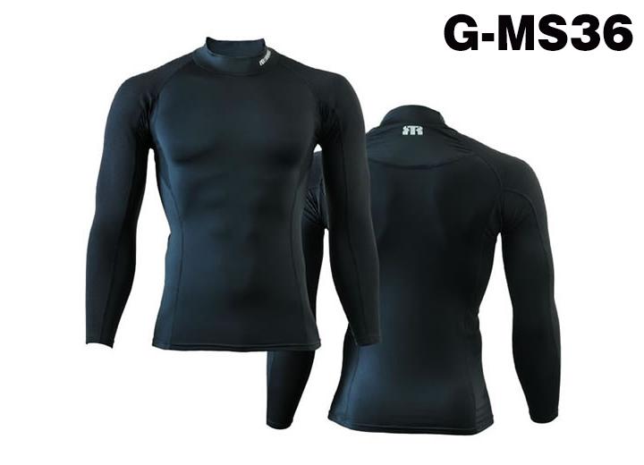 トンボレックス マッスルサポートアンダーウェア ロングスリーブ G-MS36BK(秋冬) ブラック(クーポン対象外)