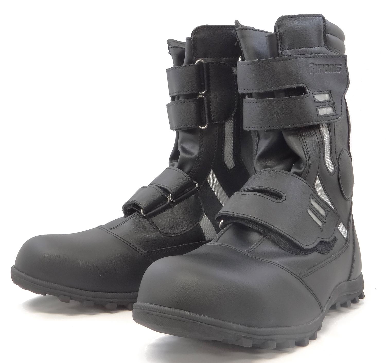 力王 安全作業用靴 HG301 ブラック