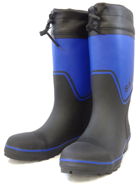 力王 安全作業用長靴 PS778 BLU ブルー