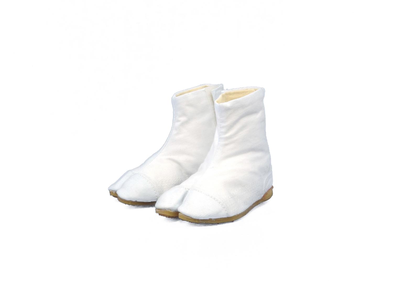 力王 子供たび(縫付) 白 WFJ3M 3枚マジック