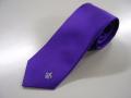 校友会公式ネクタイ(紫)