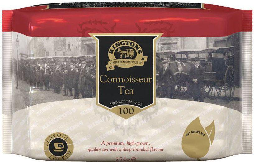■英国紅茶 Ringtons リントンズ 【CONNOISSEUR コノシュア】 100包200杯分 300g