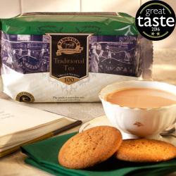 ■英国紅茶 Ringtons リントンズ 【TRADITIONAL トラディショナル】 100包200杯分300g