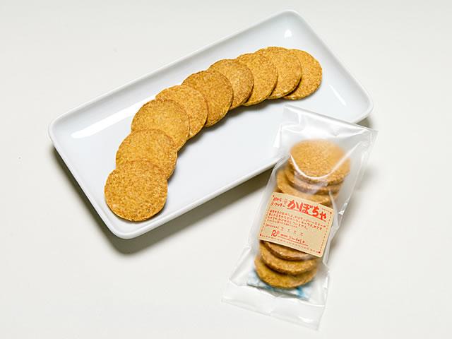 おからクッキー(かぼちゃ)