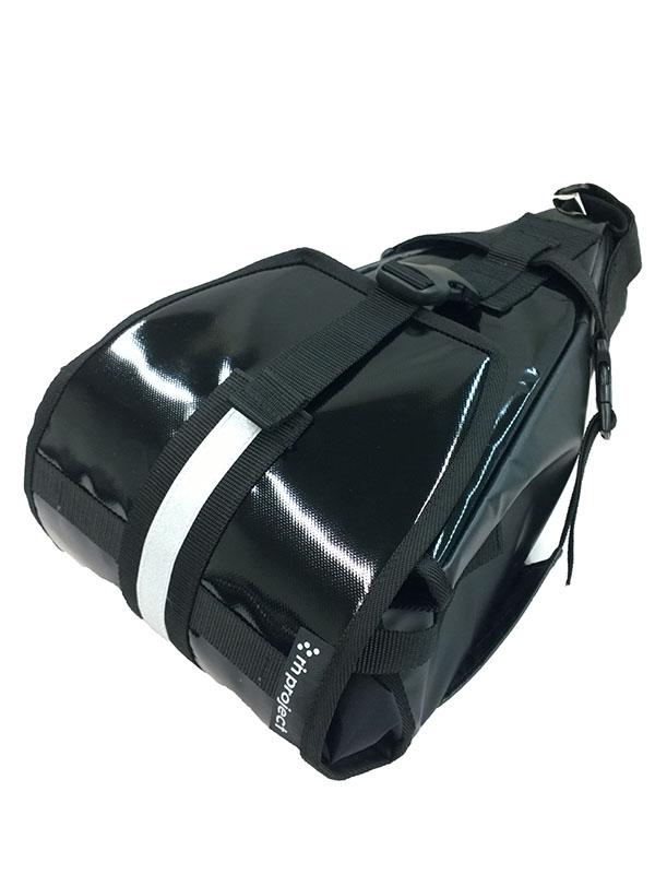 【ターポリンサドルバッグ】 リンプロジェクト 大型サドルバッグ ロードレーサーにそのまま取付け No.1018 送料無料