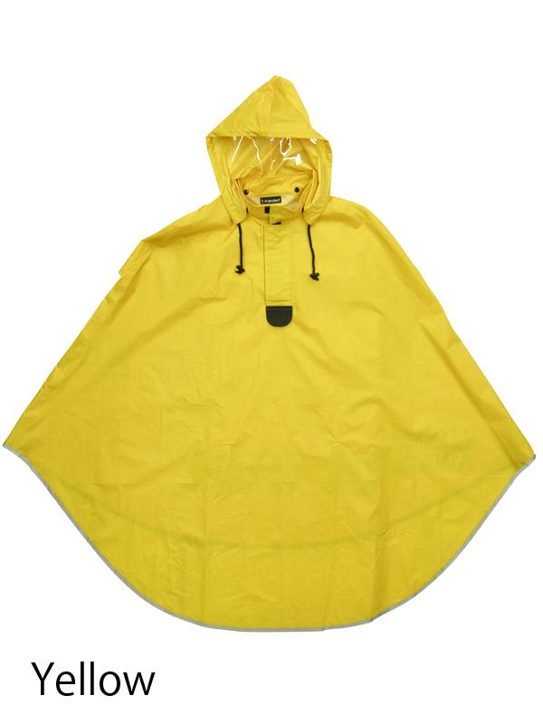 【サイクルレインポンチョ】 リンプロジェクト No.2093 蒸れにくい 雨具 自転車用 着脱式フード バタつき防止 ベンチレーション 真夏も快適