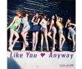 【販売終了】 ウェザーガールズ 6thシングルLike You ・ Anyway 初回盤A [CD+DVD]
