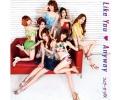 ウェザーガールズ 6thシングルLike You ・ Anyway 初回盤B [CD+DVD]
