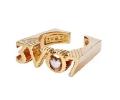 【3.V.O.7】リングLove Ring(Gold)