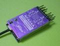 Cooltec 2.4G 4ch受信機 RFA04A フタバ FASST 互換 赤紫1線