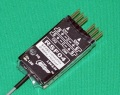 Cooltec 2.4G 4ch受信機 RSF04 フタバ S-FHSS互換 黒