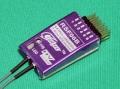 Cooltec 2.4G 6ch受信機 RSF06B フタバ S-FHSS互換 赤紫