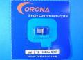 Corona 受信機用 72M帯マイクロクリスタル