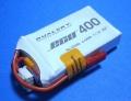 Dualsky 30C放電 11.1V400mAh XP04003ECO 白