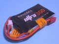 Dualsky 50C放電 7.4V300mAh XP03002ULT 黒