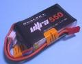 Dualsky 50C放電 11.1V550mAh XP05503ULT 黒