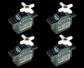 FUTABA 10.0g S3776SB 小型電動モデル用 S.BUS 4個