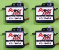Power-HD 8.0g HD-1800A 4個