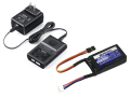 JR 2F800XH LiFe 6.6V 800mAh 受信機用+充電器