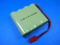 ROBIN 受信機用 NiMh 4.8V 2200mAh 平型 緑