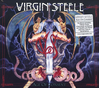 VIRGIN STEELE (US) / Age Of Consent (2CD)