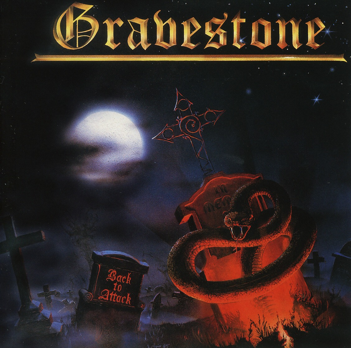 GRAVESTONE (Germany) / Back To Attack + 2