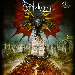 BLITZKRIEG (UK) / A Time Of Changes: 30th Anniversary Edition (サイン入り!)