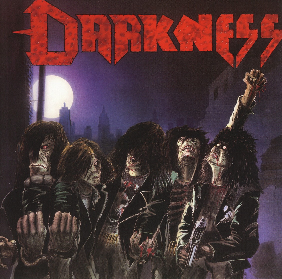 DARKNESS (Germany) / Death Squad + 7