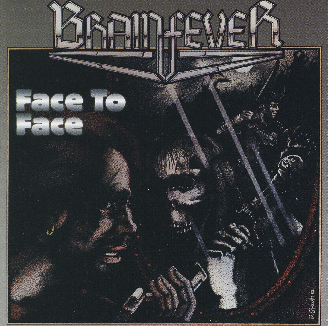 BRAINFEVER (Germany) / Face To Face + 2