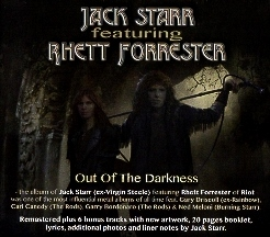 JACK STARR featuring RHETT FORRESTER (US) / Out Of The Darkness + 6