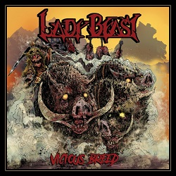 LADY BEAST (US) / Vicious Breed