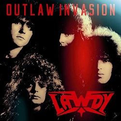 LAWDY (Germany) / Outlaw Invasion (2017 reissue)