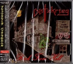 BLITZKRIEG (UK) / Back From Hell + 3 (Japan edition)
