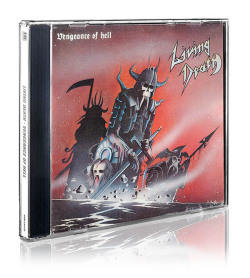 LIVING DEATH (Germany) / Vengeance Of Hell + 9 (2014 reissue)