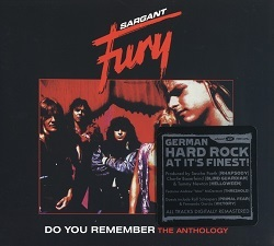 SARGANT FURY (Germany) / Do You Remember - The Anthology (3CD box set)