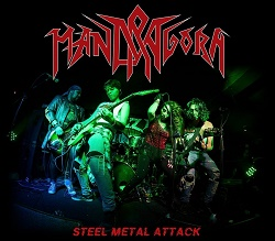 MANDRAGORA (Peru) / Steel Metal Attack (with Pin)