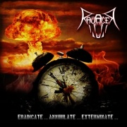 RAVAGER (Germany) / Eradicate... Annihilate... Exterminate...