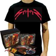 SATAN (UK) / Atom By Atom (Limited Box Set with T-Shirt)