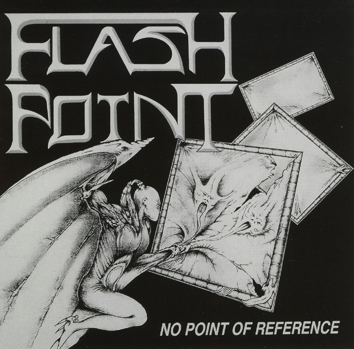FLASHPOINT (UK) / No Point Of Reference (サイン入り!)
