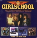 GIRLSCHOOL(UK) / The Bronze Years (4CD Box Set)