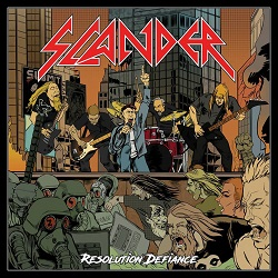 SLANDER (UK) / Resolution Defiance