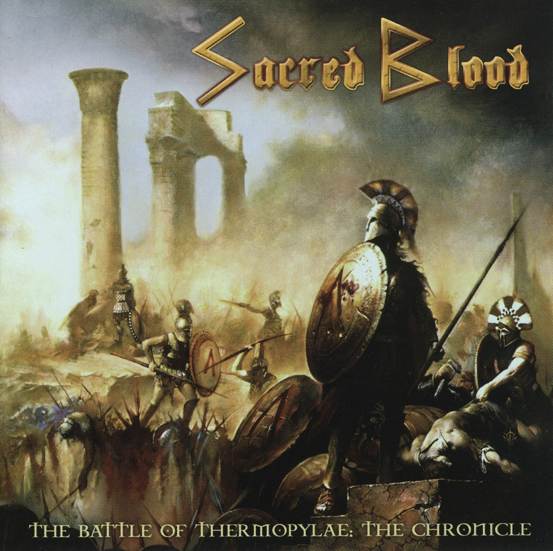 SACRED BLOOD (Greece) / The Battle Of Thermopylae: The Chronicle