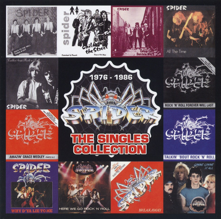 SPIDER (UK) / The Singles Collection (2CD)