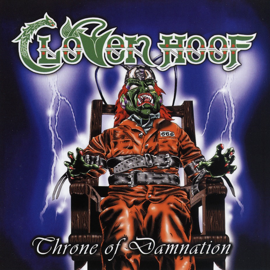 CLOVEN HOOF (UK) / Throne Of Damnation
