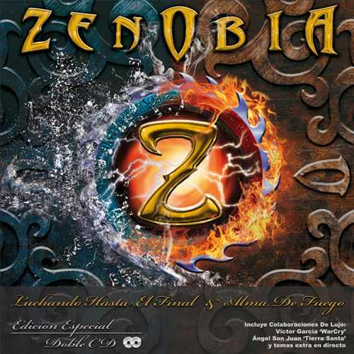 ZENOBIA (Spain) / Luchando Hasta El Final + Alma De Fuego (2CD)